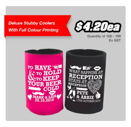 Custom Stubby Coolers