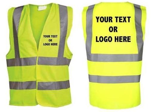 Custom Screen Printed Vests