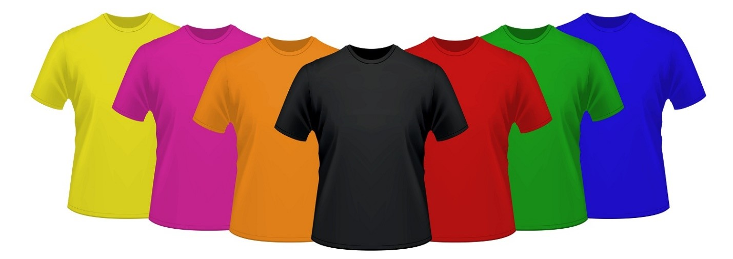 Team T-Shirts for Men with Logo - Tips for Perfect Colour Coordination