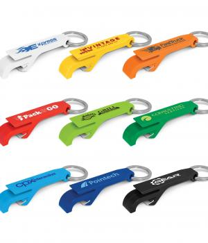 Snappy Bottle Opener Key Ring