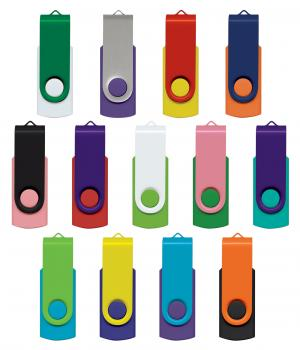 Trends Collection Helix 4GB Mix Match Flash Drive