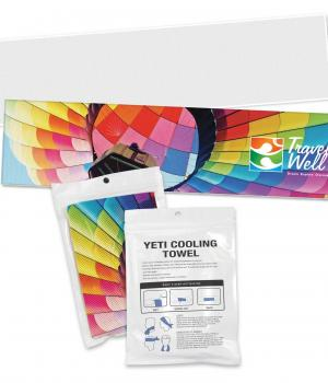 Yeti Premium Cooling Towel - Full Colour Print
