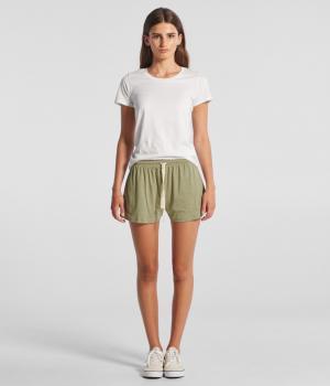 Wo's Jersey Shorts