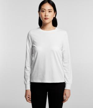 AS COLOUR WO'S DICE LONG SLEEVE TEE