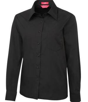 JB's Wear Ladies L/S & S/S Original Poplin Shirt