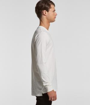 AS COLOUR MENS BASE ORGANIC LONG SLEEVE TEE