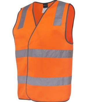 JB's Wear Hi Vis (D+N) Safety Vest