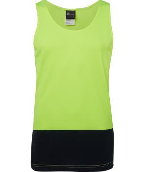 JB's Wear Hi Vis Traditional Singlet