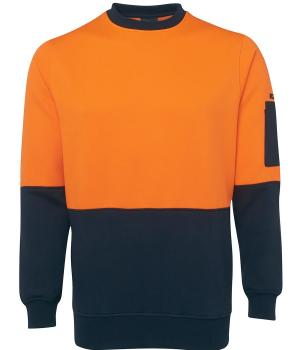 Orange / Navy