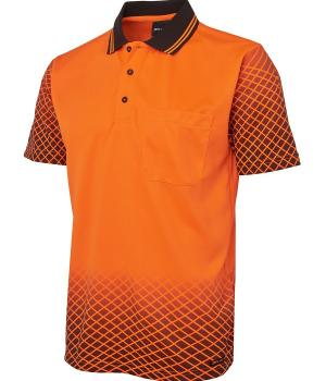 JB's Wear Hi Vis Net Sub Polo