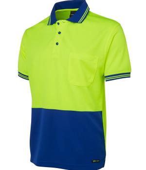 JB's Wear Hi Vis S/S Traditional Polo