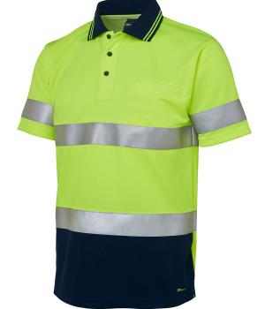 JB's Wear Hi Vis S/S (D+N) Traditional Polo