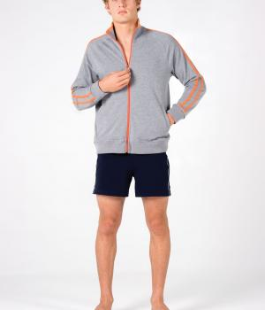 Ramo Mens Unbrushed Fleece Sweater