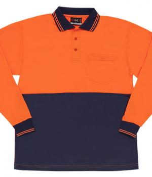 Ramo Hi Vis Long Sleeve Polo