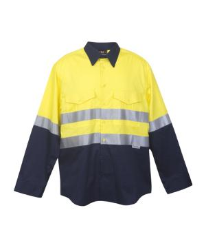 Ramo 100% Combed Cotton Drill Long Sleeve Shirt
