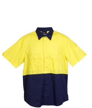 Yellow / Navy