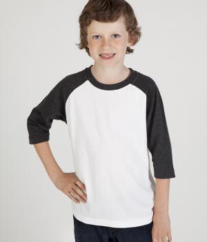 Ramo Kids 3/4 Raglan Sleeve T Shirt