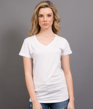 SPORTAGE LADIES NAUTICUS V NECK TEE