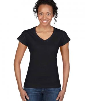 GILDAN Fitted Ladies' V-Neck T-Shirt