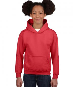 GILDAN Classic Fit Youth Hooded Sweatshirt
