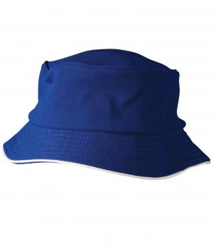 Winning Spirit Pique Mesh With Sandwich Bucket Hat