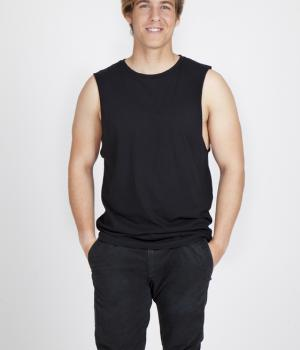 Ramo Combed Cotton Sleeveless Tee
