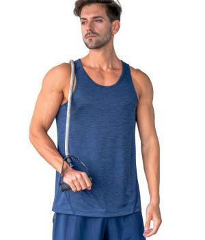 RAMO MENS CHALLENGER 100% POLY SINGLET