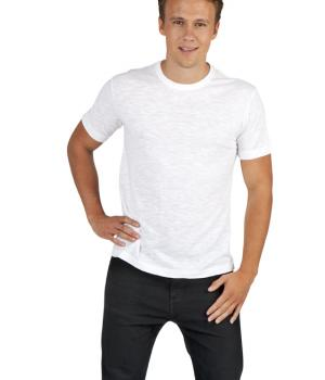 RAMO MENS RAW COTTON WAVE TEE