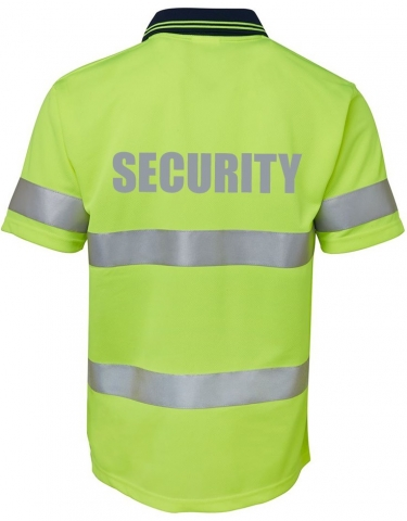 Hi vis polos custom work shirts budget screen printing for Hi vis t shirt printing